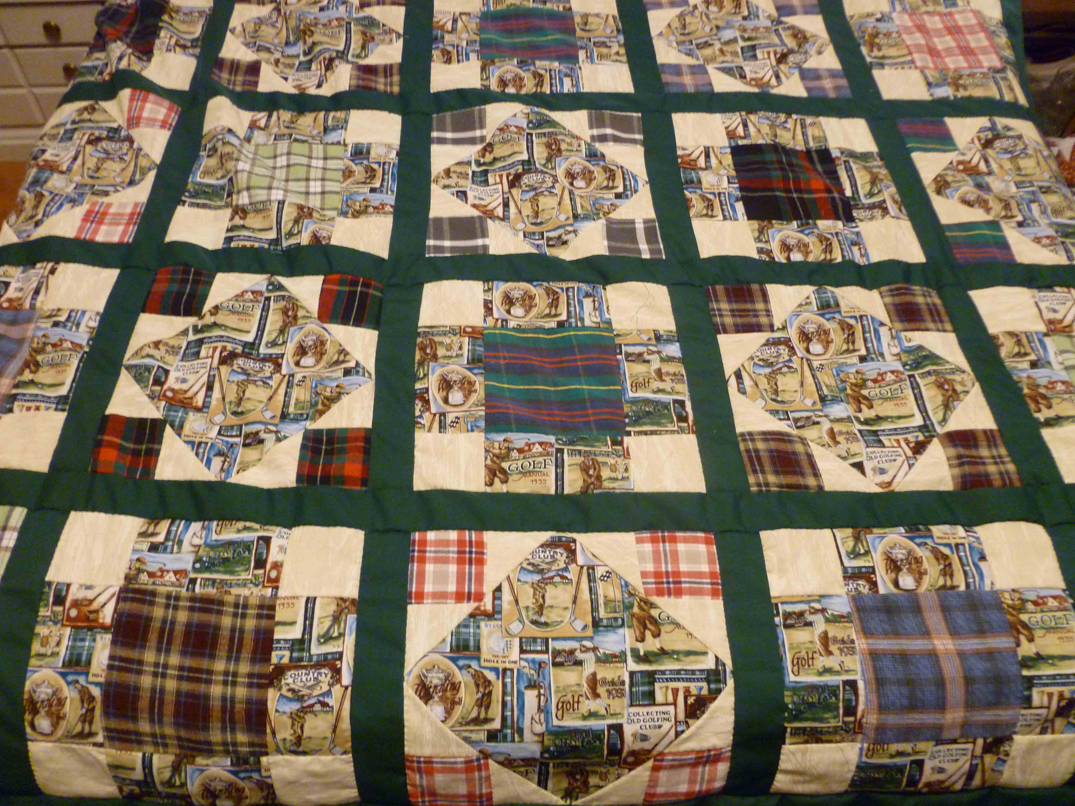 Ronda's Quilts : golf quilts - Adamdwight.com
